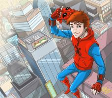 Peter Parker Underoos 2 by Lemwell