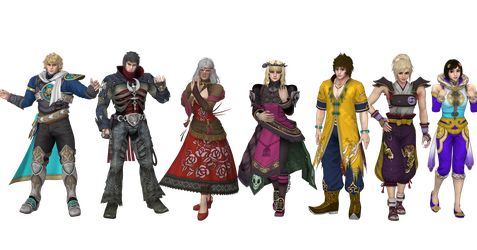 The new SCV Characters Alt by Violachanbro