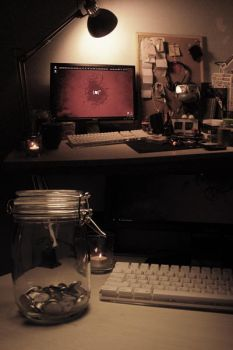 my workspace by thinmanW