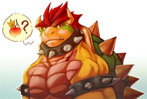 Fanart - Bowser by ben-ben