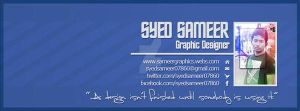 Facebook Timeline Cover Template psd by syedsameer07860