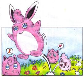 Wigglytuff by Antaie