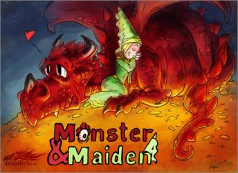 Monster and Maiden Title by dracolychee