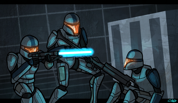 Just Like The Simulations by SmacksArt