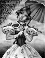 Lillian Gracey Disneys Haunted Mansion by pat-mcmichael