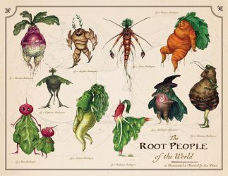 The Root People of the World by leedawnillustration
