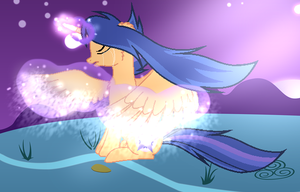 MLP I Want To Be An Unicorn Again by GalaxySwirlsYT