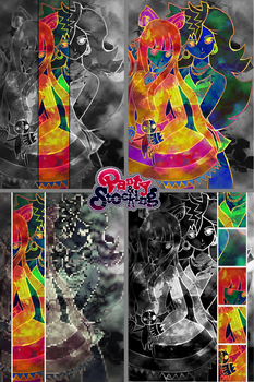 Psychedelic Panty and Stocking by Kim-Mariet