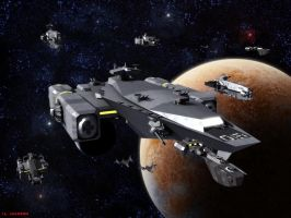 Carrier Fleet by ILJackson