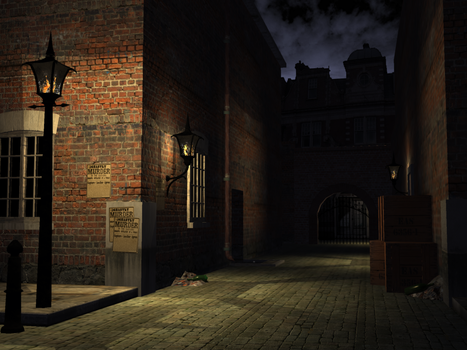 Auld Alley by The-Oubliette