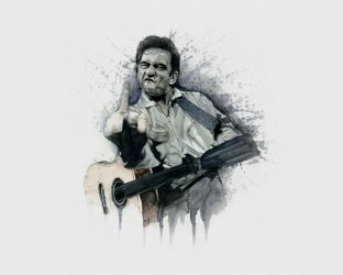Johnny Fucking Cash by ZZeeEE