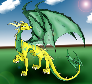 Dragoness Commission by 6liza6
