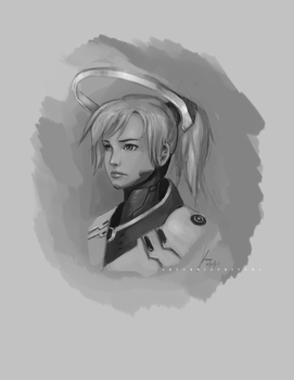 Mercy Sketch by OOQuant