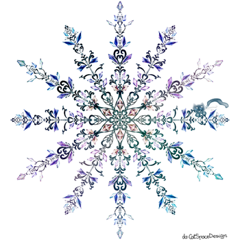 Crystal Swirl by CatSpaceDesign