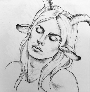 Sleepy Satyr by PoorMedea