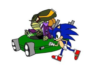 Sonic vs N. Oxide by DrSpeed