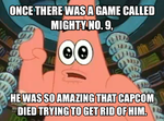 Patrick Meme #1: Mighty No. 9 by TRC-Tooniversity