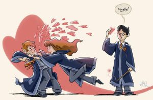 Hermione in Love by mikemaihack