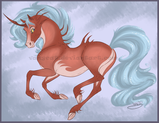 Summer Unicorn - Cancer by VanyCat