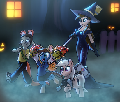 [COMM] Trick Or Treat by Zaron