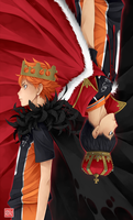 Haikyuu!! - King + Crow King by zero0810