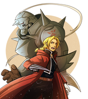 FMA - Two Brothers by MayhWolf