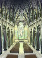 In The Cathedral by Western-Wind
