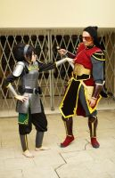 Toph and Zuko by TophWei