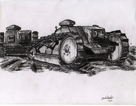 FORD 3TON TANK by shank117