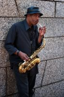 Sax Man by nathanspotts