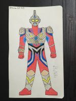 Ultraman GX V2 (update) by JHMirda