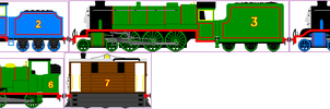 Revamped NWR No's 1-7 (WIP) by TheblueV3