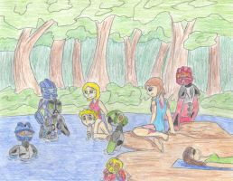 Brutaka's Game: At the River by Saronicle