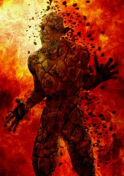 The Lava Golem by ShaneGallagher