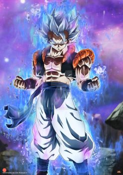 Gogeta Mastered Ultra Instinct 2 by Maniaxoi