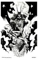 Batman by drawhard