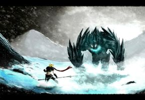 The Princess and The Ice Monster by Hachiimon