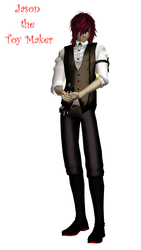 [MMD Newcomer] Jason the Toy Maker DL by Penellis