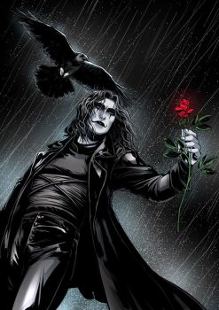 The Crow by LolitaAldea