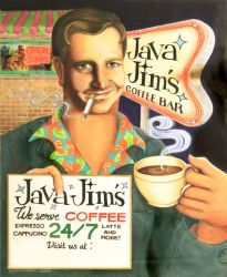 Java Jim by QuicheLoraine