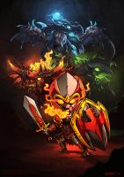 Dragon Knight dota 2 by n2c