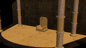 Egypt Throne Room ver 3 by Lowdsian