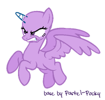 You cheated on me?? - MLP Base by Pastel-Pocky