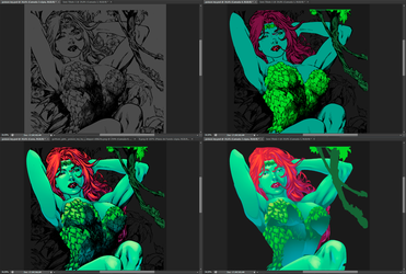 Poison ivy by MayconDSS