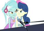 Lyra and Bonbon Piano Duet by Midnight-St4r