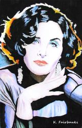 Sherilyn Fenn Portrait by kfairbanks