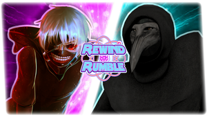 RR|Ken Kaneki vs. SCP-049 by Vex2001