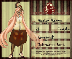 CD: Evelyn Magnus App by stargazingdreamer