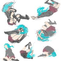 Vocaloid - Rolling Girl by lihsa