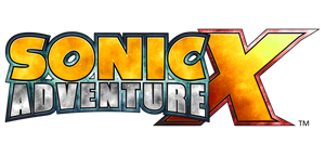 Sonic Adventure X (Custom Logo) No Background by Mauritaly